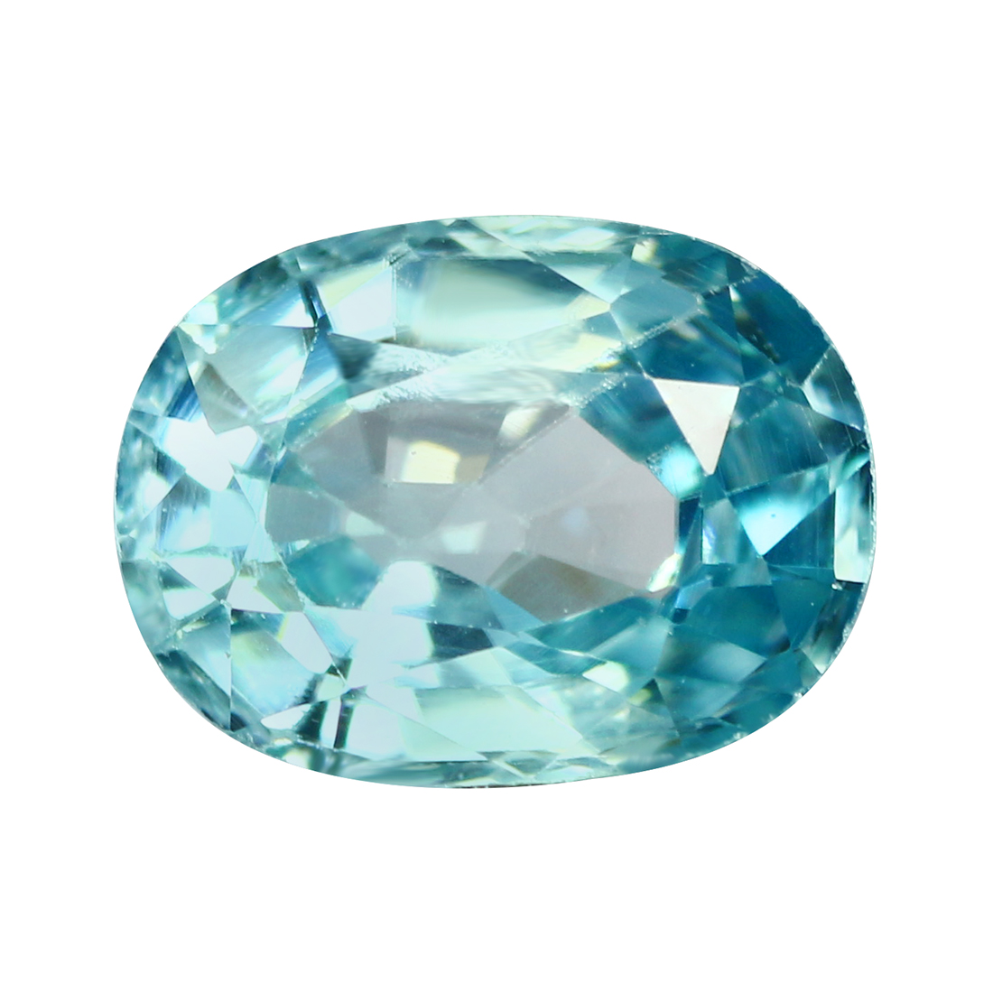 7.12 CT AAA Natural Blue Zircon Diamonds Octagon Cut 11X9MM VVS Loose Gemstones