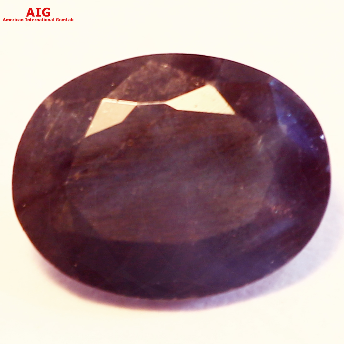 1.28ct AIG CERTIFIED GREEN TO PURPLISH RED NATURAL
